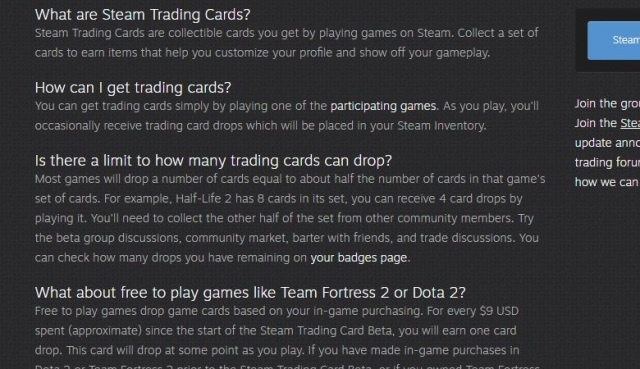 What S The Deal With Steam Trading Cards Indie Gamer Team